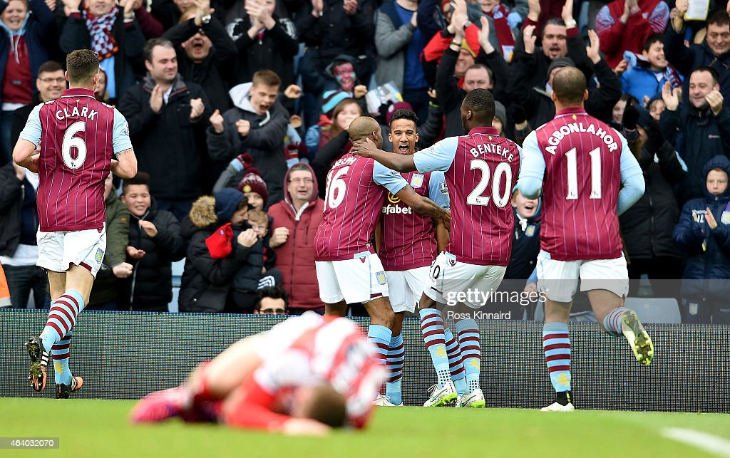 Aston Villa v Stoke City - Premier League : News Photo
