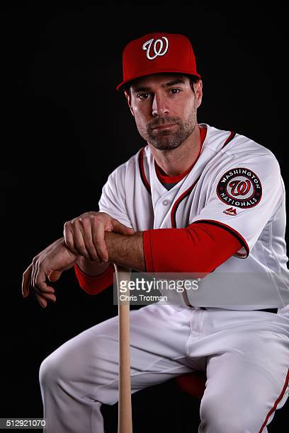 Scott Sizemore of the Washington Nationals poses for a portrait at Spring Training photo day at Space Coast Stadium on February 28 2016 in Viera...