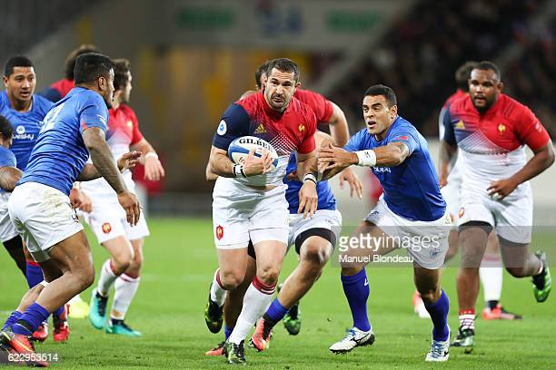 Scott Spedding of France during the rugby test match between France and Samoa on November 12 2016 in Toulouse France
