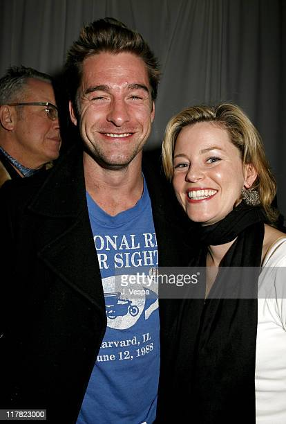 Scott Speedman and Elizabeth Banks during 2007 Sundance Film Festival - Entertainment Weekly Party at Jean Louis in Park City, Utah, United States.
