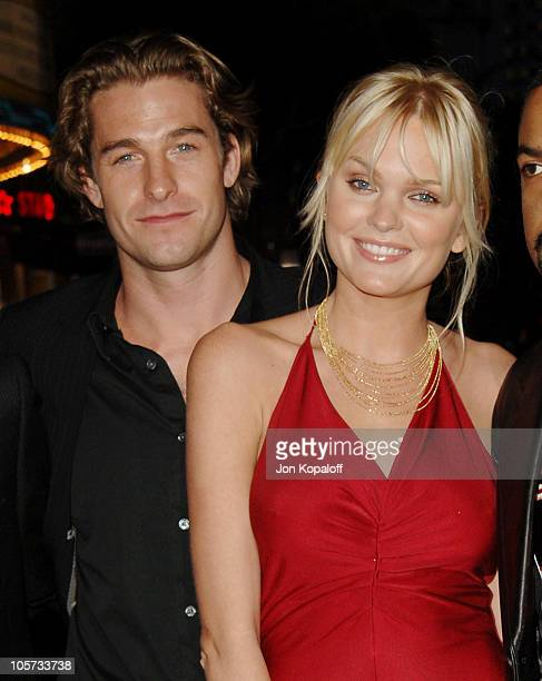 """Scott Speedman and Sunny Mabrey during """"XXX: State of the Union"""" Los Angeles Premiere - Arrivals at Mann Village Westwood in Westwood, California,..."""