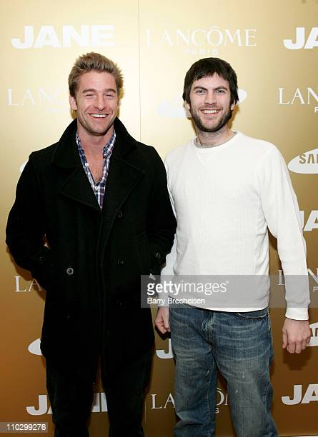 Scott Speedman and Wes Bentley during 2007 Park City Jane House with Lancome Day 2 at Jane House in Park City Utah United States
