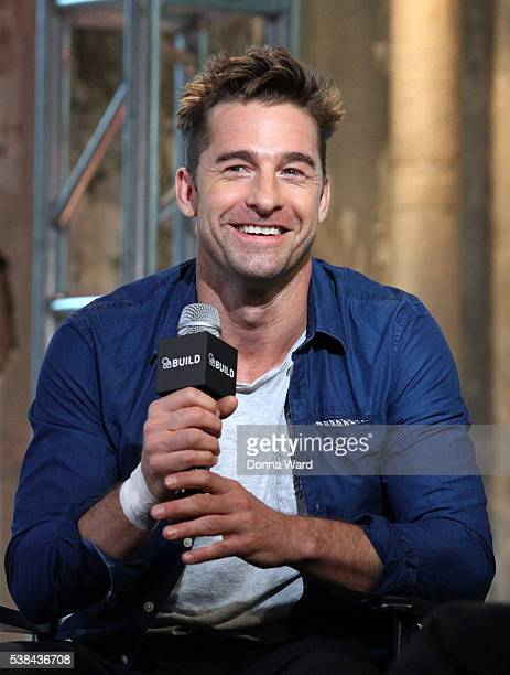 """Scott Speedman appears to promote """"Animal Kingdon"""" during the AOL BUILD Series at AOL Studios In New York on June 6, 2016 in New York City."""