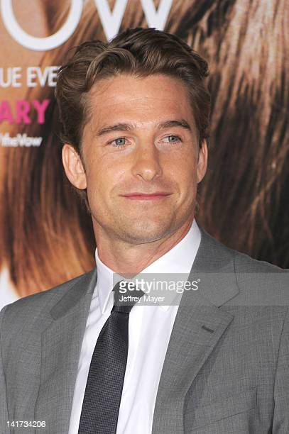 Scott Speedman arrives at The Vow Los Angeles Premiere at Grauman's Chinese Theatre on February 6 2012 in Hollywood California