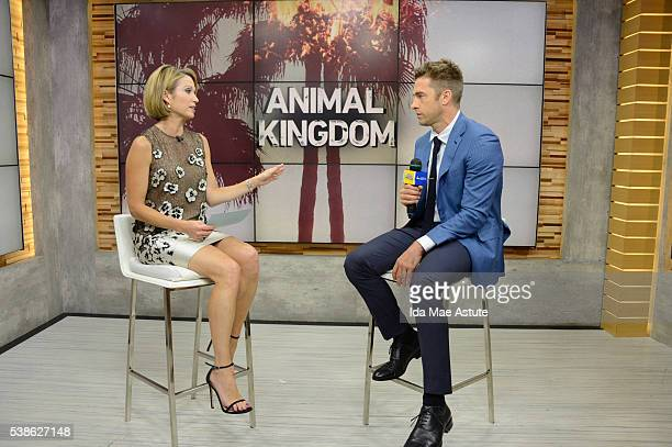 AMERICA Scott Speedman of the new crime drama Animal Kingdom is interviewed on GOOD MORNING AMERICA 6/7/16 airing on the Walt Disney Television via...
