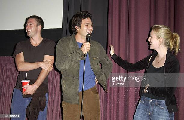 Scott Speedman Sarah Polley and Mark Ruffalo during 'My Life Without Me' Screening Hosted by IFP at Sunset 5 Theater in Los Angeles California United...