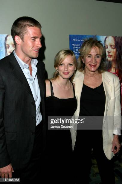 """Scott Speedman, Sarah Polley and Olympia Dukakis during """"My Life Without Me"""" Premiere at Landmark's Sunshine Theater in New York City, New York,..."""