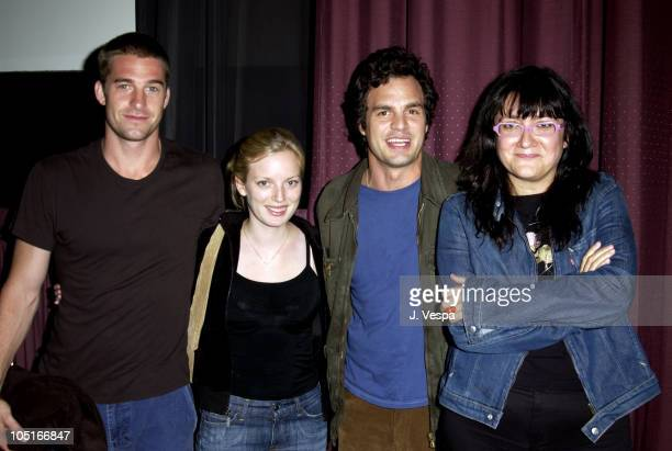 Scott Speedman, Sarah Polley, Mark Ruffalo and Director Isabel Coixet