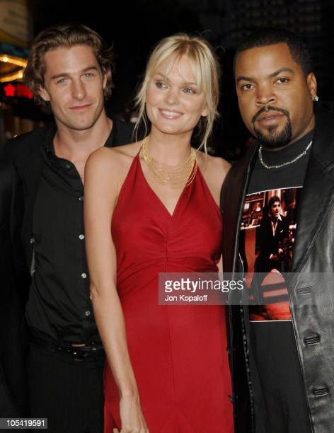 """Scott Speedman, Sunny Mabrey and Ice Cube during """"XXX: State of the Union"""" Los Angeles Premiere - Arrivals at Mann Village Westwood in Westwood,..."""