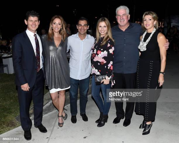 Scott Srebnick Goldman Properties CEO Jessica Goldman Srebnick Miami Mayor Francis Suarez Gloria Suarez Rodney Barreto and Sheila Barreto attend...