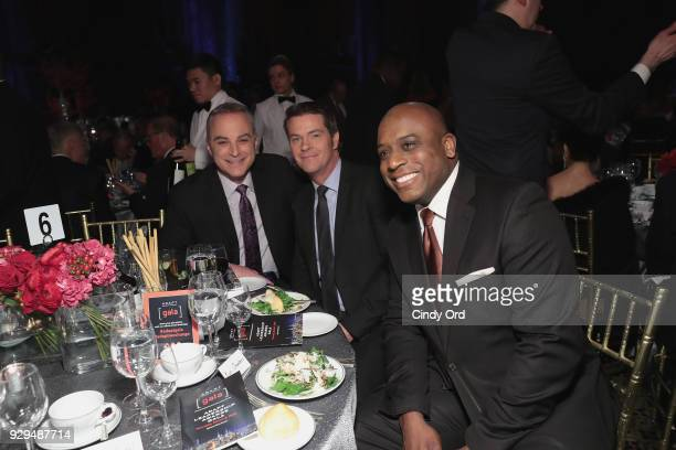 Scott Standford John Muller and Kori Chambers attend the Adapt Leadership Awards Gala 2018 at Cipriani 42nd Street on March 8 2018 in New York City