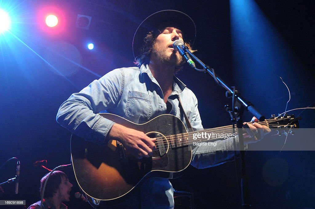 Scott Stanton of Current Swell performs on stage at KOKO on May 22, 2013 in London, England.