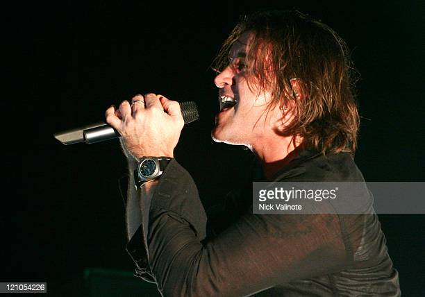 Scott Stapp during Scott Stapp in Concert at the Borgata Hotel and Casino at The Music Box in Atlantic City NJ United States