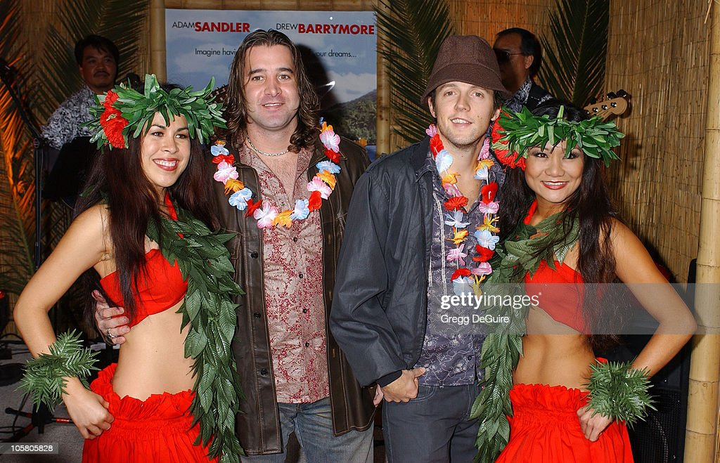 Scott Stapp of 'Creed' and Jason Mraz during '50 First Dates' Premiere at Mann Village Theatre in Westwood, California, United States.