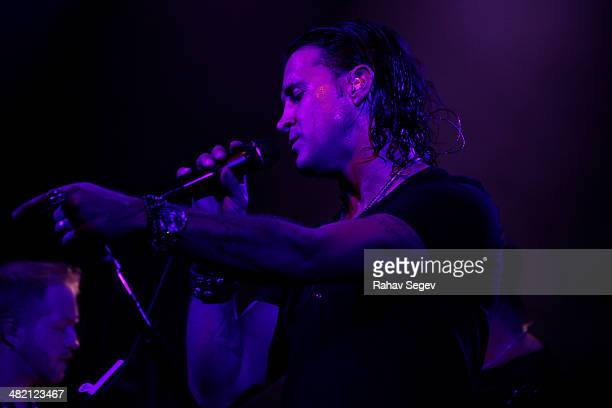 Scott Stapp performs at Irving Plaza on April 2 2014 in New York City