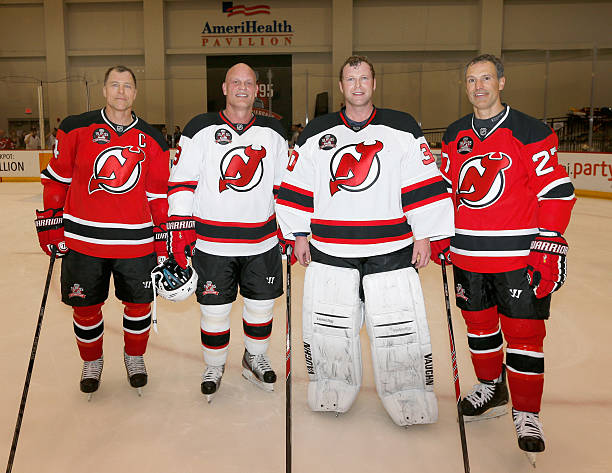 7eb28f6d3 New Jersey Devils 1995 Stanley Cup Championship Reunion Charity Game ...