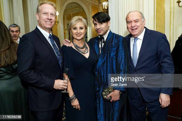 Scott Stone Ana Stone Victor dE Souza and Martin Shafiroff attend Surgeons Of Hope 7th Annual Charity Gala at Essex House on October 15 2019 in New...