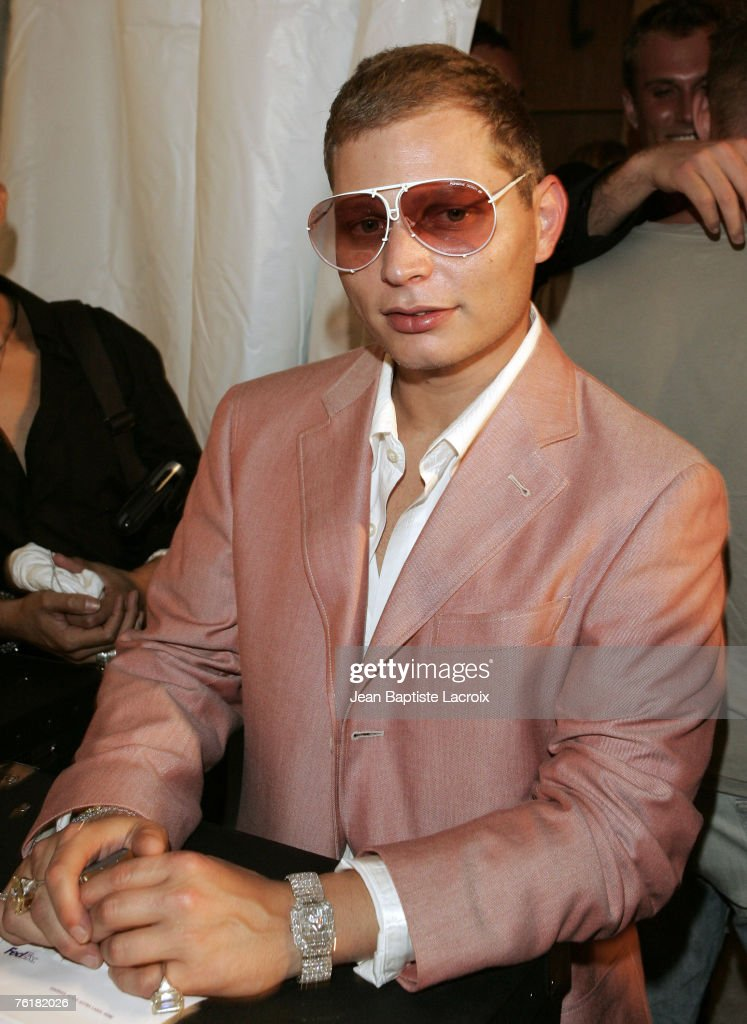 Miami Fashion Week 2006 - Heatherette - Backstage : News Photo