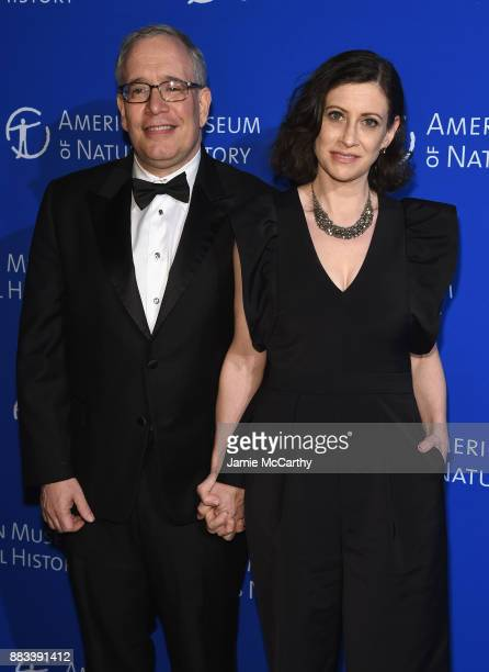 Scott Stringer and Elyse Buxbaum attend the American Museum Of Natural History's 2017 Museum Gala at American Museum of Natural History on November...