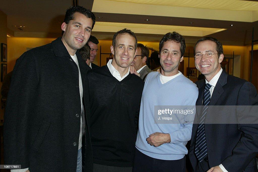 Frederic Fekkai, Scott Stuber, Marc Abraham and Kevin Misher Host Men's Night