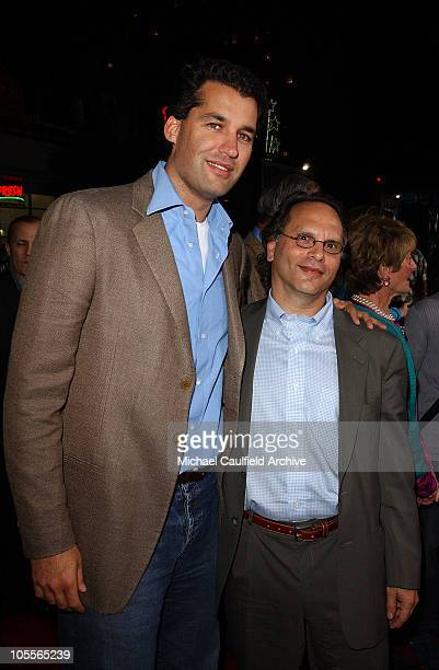 Scott Stuber, vice chairman of Worldwide Productions and Buzz Bissinger, author