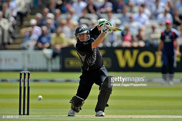 Scott Styris batting for New Zealand during the NatWest Series One Day International between England and New Zealand at Lord's London 28th June 2008...