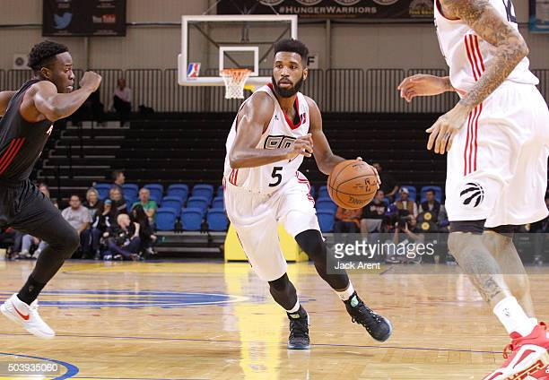 Scott Suggs of the Raptors 905 shoots the ball against the Sioux Falls Skyforce during the 2016 NBA DLeague Showcase presented by SAMSUNG on January...