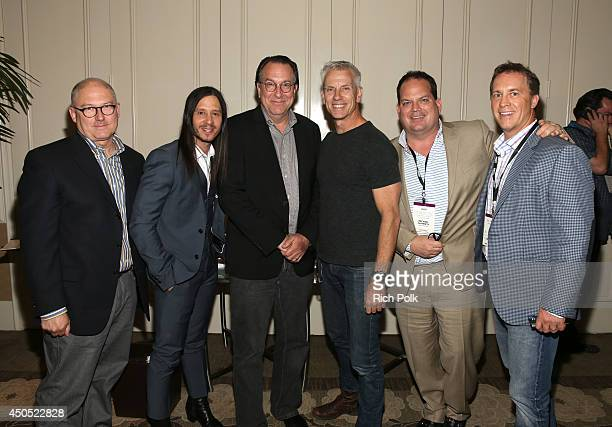 Scott Swofford Andrew Panay Steven Gaydos Chris Sanders Michael Flaherty and Chris Parker during Variety's Purpose The Family Entertainment and...