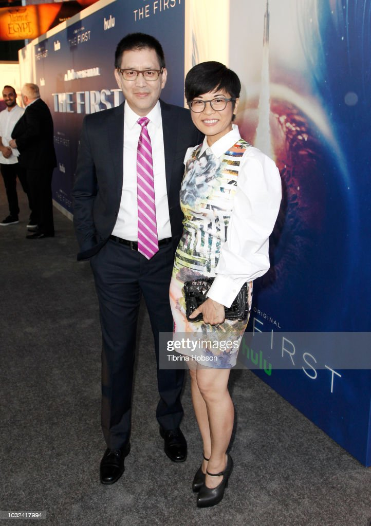 Scott Takeda And Keiko Agena Attend The Premiere Of Hulus The