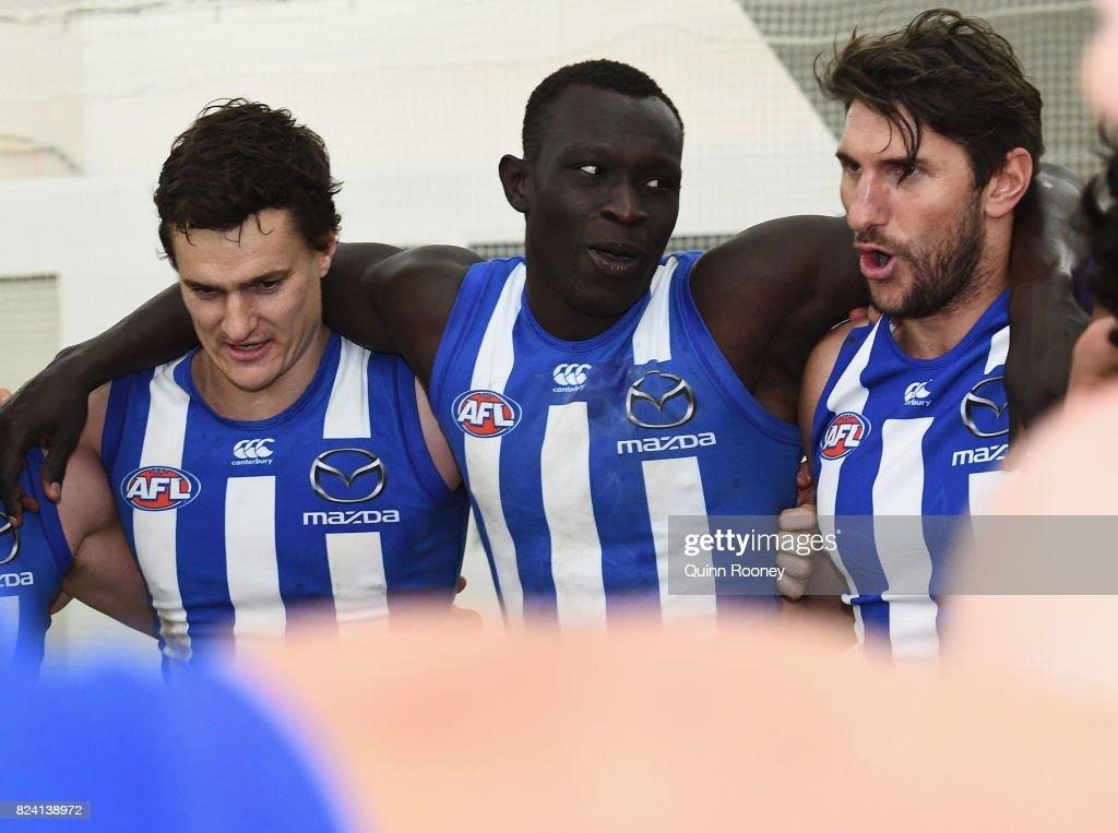 AFL Rd 19 - North Melbourne v Melbourne : News Photo