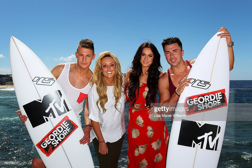 Geordie Shore Season 6 Photo Call At Bondi Beach