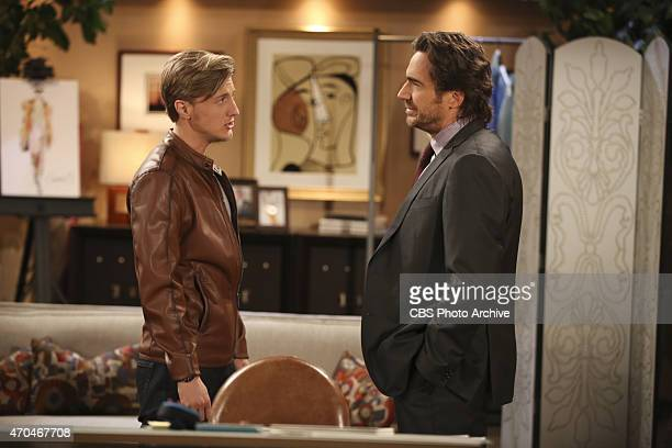 Scott Turner Schofield and Thorsten Kaye on the CBS series THE BOLD AND THE BEAUTIFUL scheduled to air on the CBS Television Network