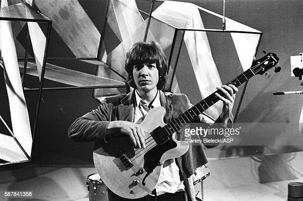 Scott Walker of The Walker Brothers on the set of TV show Thank Your Lucky Stars United Kingdom August 1965