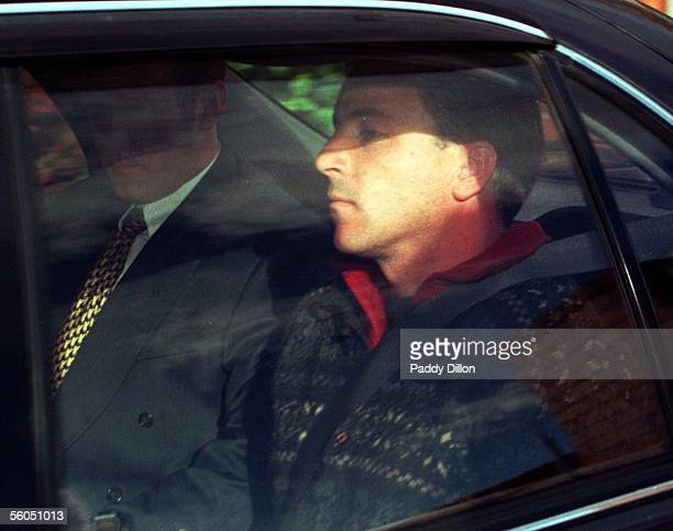 Scott Watson is taken to the Christchurch District Court in a police car before being charged with the murder of Ben Smart and Oliva Hope who have...