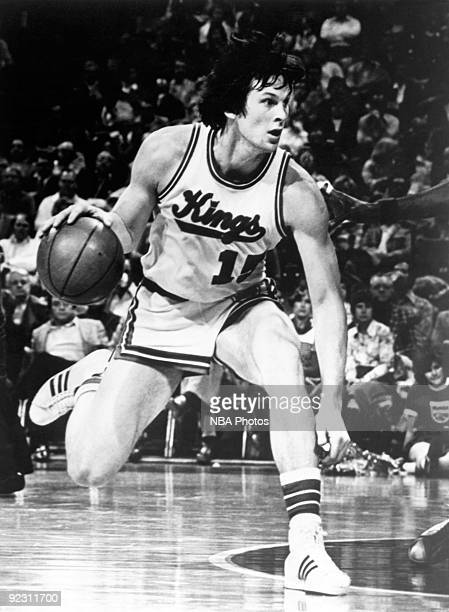 Scott Wedman of the Kansas City Kings dribbles the ball during a game  played circa 1981 0aff91374