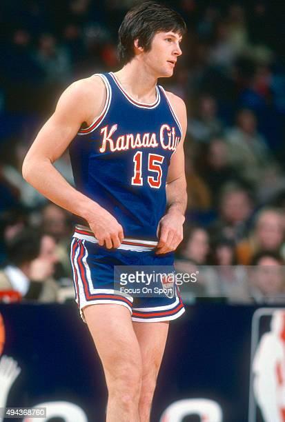 Scott Wedman of the Kansas City Kings looks on against the Washington  Bullets during an NBA 497f38bd1