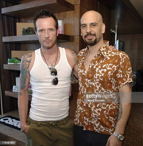 Scott Weiland and Dave Kushner during Fantasy Suite Gifting Lounge Hosted By The Palms Hotel and Casino Resort and 944 Magazine at The Palms Hotel...