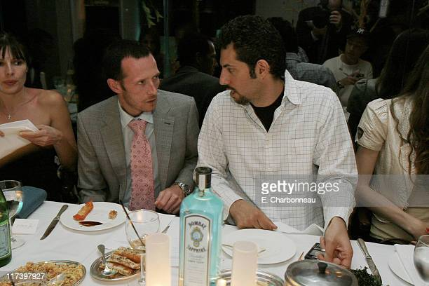 Scott Weiland and Guy Oseary during Pharrell Williams Dinner in celebration of the Los Angeles Film Festival Hosted by Bombay Sapphire at Mr Chows in...