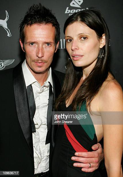 Scott Weiland and Mary Weiland during William Rast Presents 'Street Sexy' Spring Summer 07 After Party Arrivals at Boulevard3 in Hollywood California...