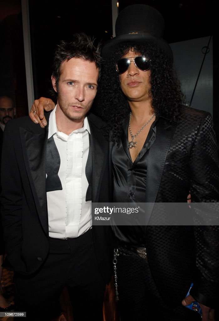 Scott Weiland and Slash of Velvet Revolver *EXCLUSIVE*