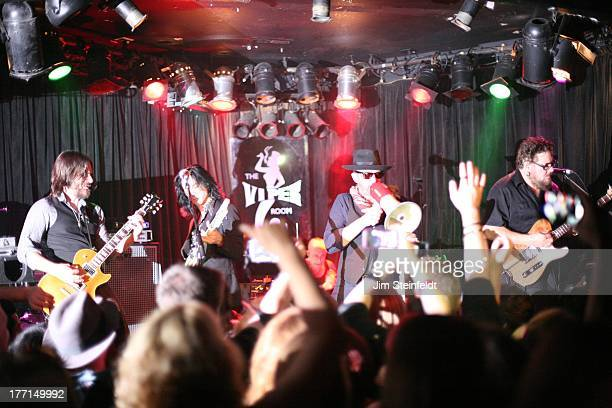 Scott Weiland and The Wildabouts perform at the Viper Room during the Sunset Strip Music Festival in Los Angeles California on August 3 2013