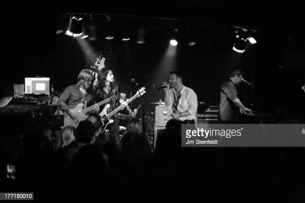 Scott Weiland and The Wildabouts perform at the Viper Room during the Sunset Strip Music Festival in Los Angeles California on August 2 2013