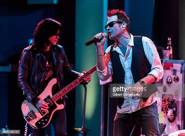 Scott Weiland and The Wildabouts perform at World Cafe Live on March 12 2015 in Philadelphia Pennsylvania