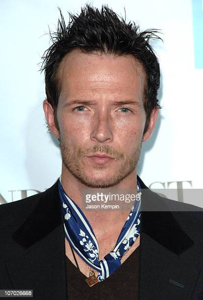 Scott Weiland during Conde Nast Media Group Kicks off New York Fall Fashion Week with 3rd Annual Fashion Rocks Concert Arrivals at Radio City Music...