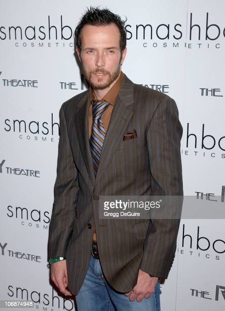 Scott Weiland during Smashbox Cosmetics and the Roxy Theater Present Hedwig And The Angry Inch Arrivals at Roxy Theatre in West Hollywood California...