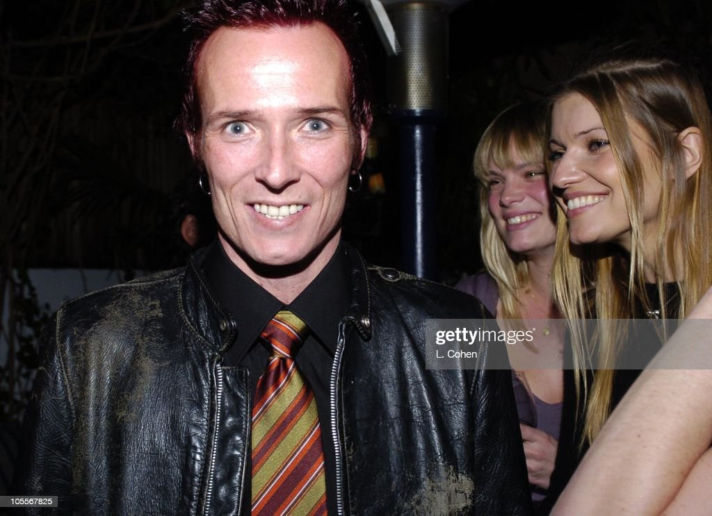 Scott Weiland of Velvet Revolver and Ivana Milicevic celebrate his birthday at a surprise party thrown by wife Mary Weiland The party was held in the midst of the band's U.S. concert tour in support of their platinum Contraband album.