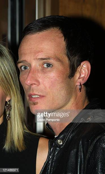 Scott Weiland of Velvet Revolver during Velvet Revolver After Party May 26 2004 at Hotel Gansevoort Rooftop in New York City New York United States
