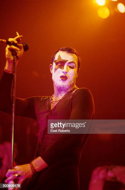 Scott Weiland performing in Kiss make up with Stone Temple Pilots at Roseland in New York City on August 3 1993