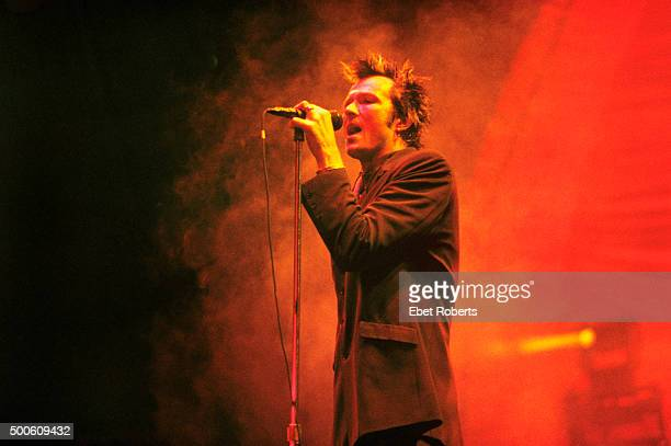 Scott Weiland performing with Stone Temple Pilots at Madison Square Garden in New York City on November 25 1996