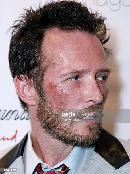 Scott Weiland poses at the launch of his clothing line 'Weiland For English Laundry' at The Roxy Theatre on September 9 2009 in West Hollywood...